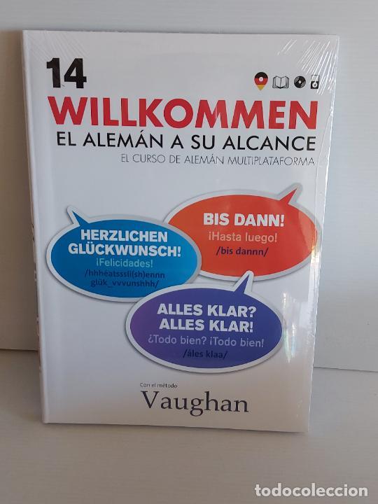 VAUGHAN / WILLKOMMEN - EL ALEMÁN A SU ALCANCE / 14 / LIBRO + CD / PRECINTADO. (Libros Nuevos - Idiomas - Alemán )