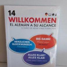 Libros: VAUGHAN / WILLKOMMEN - EL ALEMÁN A SU ALCANCE / 14 / LIBRO + CD / PRECINTADO.. Lote 228562496