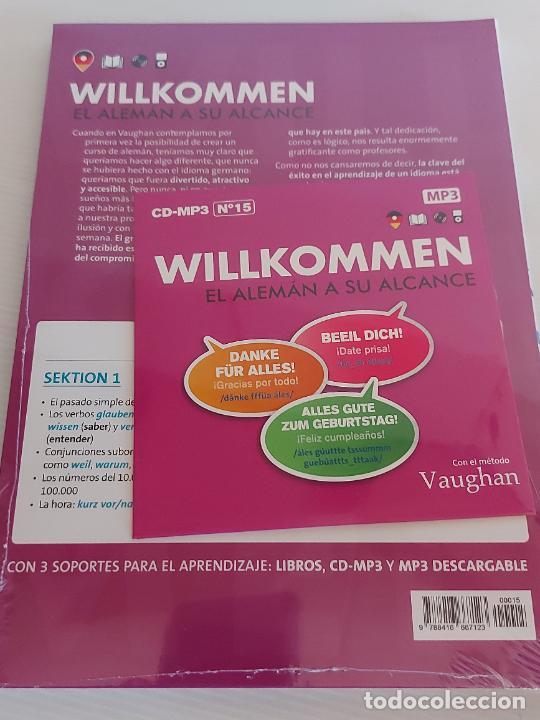 Libros: VAUGHAN / WILLKOMMEN - EL ALEMÁN A SU ALCANCE / 15 / LIBRO + CD / PRECINTADO. - Foto 2 - 228562650