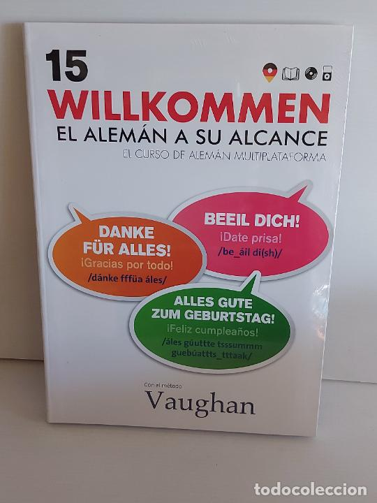 VAUGHAN / WILLKOMMEN - EL ALEMÁN A SU ALCANCE / 15 / LIBRO + CD / PRECINTADO. (Libros Nuevos - Idiomas - Alemán )