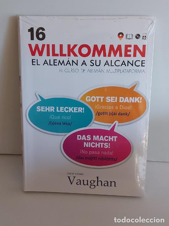 VAUGHAN / WILLKOMMEN - EL ALEMÁN A SU ALCANCE / 16 / LIBRO + CD / PRECINTADO. (Libros Nuevos - Idiomas - Alemán )