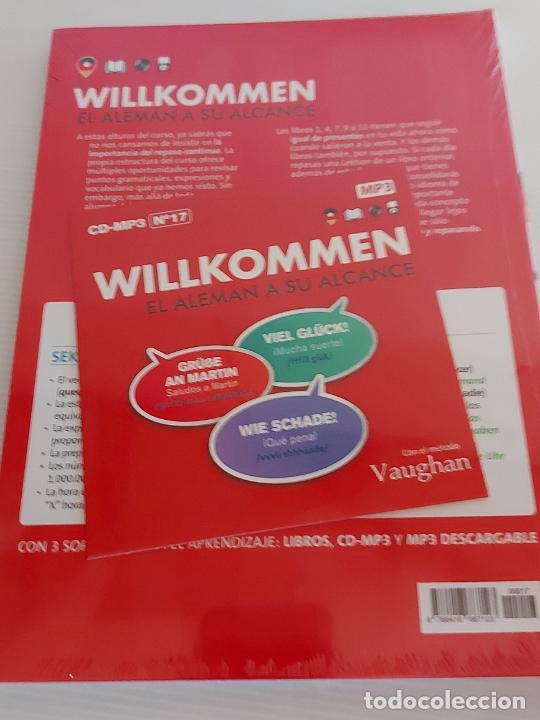 Libros: VAUGHAN / WILLKOMMEN - EL ALEMÁN A SU ALCANCE / 17 / LIBRO + CD / PRECINTADO. - Foto 2 - 228563010