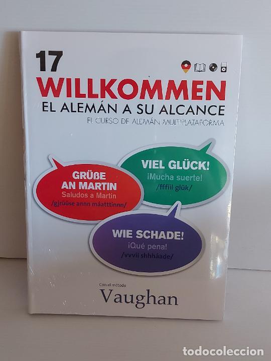 VAUGHAN / WILLKOMMEN - EL ALEMÁN A SU ALCANCE / 17 / LIBRO + CD / PRECINTADO. (Libros Nuevos - Idiomas - Alemán )