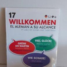 Libros: VAUGHAN / WILLKOMMEN - EL ALEMÁN A SU ALCANCE / 17 / LIBRO + CD / PRECINTADO.. Lote 228563010
