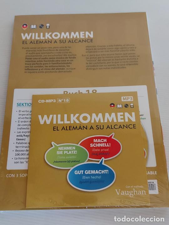 Libros: VAUGHAN / WILLKOMMEN - EL ALEMÁN A SU ALCANCE / 18 / LIBRO + CD / PRECINTADO. - Foto 2 - 228563080