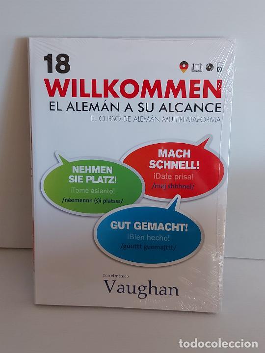 VAUGHAN / WILLKOMMEN - EL ALEMÁN A SU ALCANCE / 18 / LIBRO + CD / PRECINTADO. (Libros Nuevos - Idiomas - Alemán )