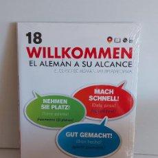 Libros: VAUGHAN / WILLKOMMEN - EL ALEMÁN A SU ALCANCE / 18 / LIBRO + CD / PRECINTADO.. Lote 228563080