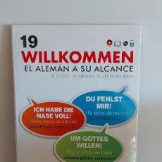 Libros: VAUGHAN / WILLKOMMEN - EL ALEMÁN A SU ALCANCE / 19 / LIBRO + CD / PRECINTADO.. Lote 228563185
