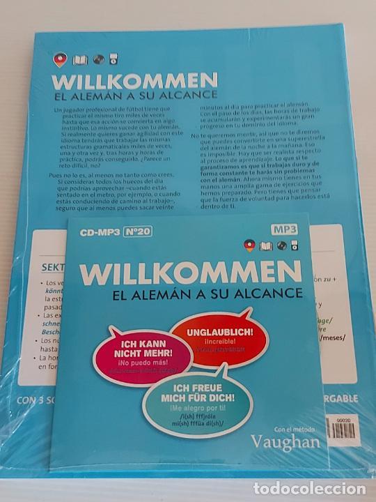 Libros: VAUGHAN / WILLKOMMEN - EL ALEMÁN A SU ALCANCE / 20 / LIBRO + CD / PRECINTADO. - Foto 2 - 228563295