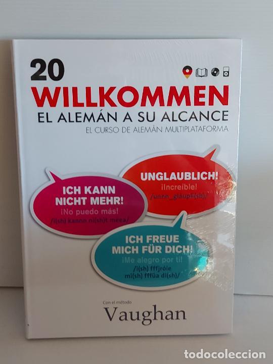 VAUGHAN / WILLKOMMEN - EL ALEMÁN A SU ALCANCE / 20 / LIBRO + CD / PRECINTADO. (Libros Nuevos - Idiomas - Alemán )