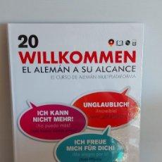 Libros: VAUGHAN / WILLKOMMEN - EL ALEMÁN A SU ALCANCE / 20 / LIBRO + CD / PRECINTADO.. Lote 228563295