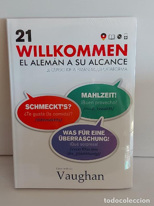VAUGHAN / WILLKOMMEN - EL ALEMÁN A SU ALCANCE / 21 / LIBRO + CD / PRECINTADO. (Libros Nuevos - Idiomas - Alemán )