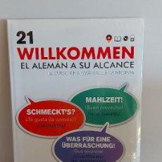 Libros: VAUGHAN / WILLKOMMEN - EL ALEMÁN A SU ALCANCE / 21 / LIBRO + CD / PRECINTADO.. Lote 228563400
