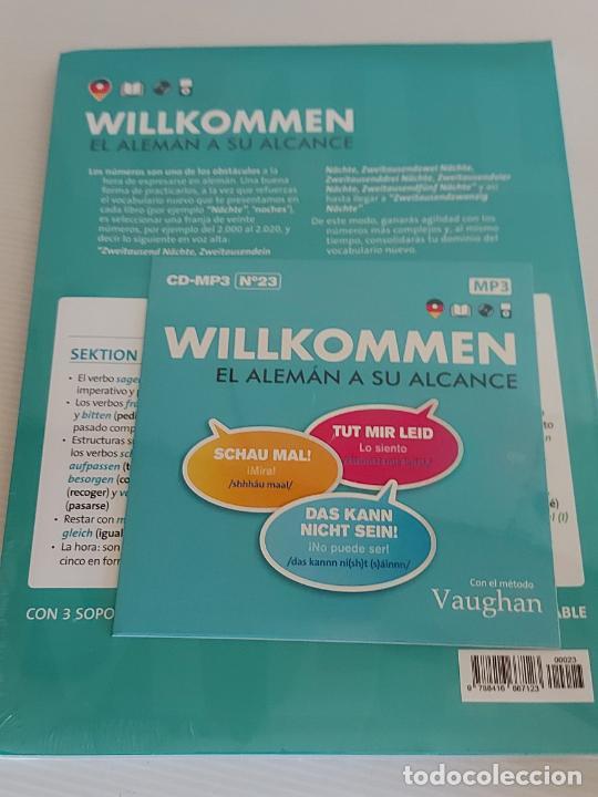 Libros: VAUGHAN / WILLKOMMEN - EL ALEMÁN A SU ALCANCE / 23 / LIBRO + CD / PRECINTADO. - Foto 2 - 228563520