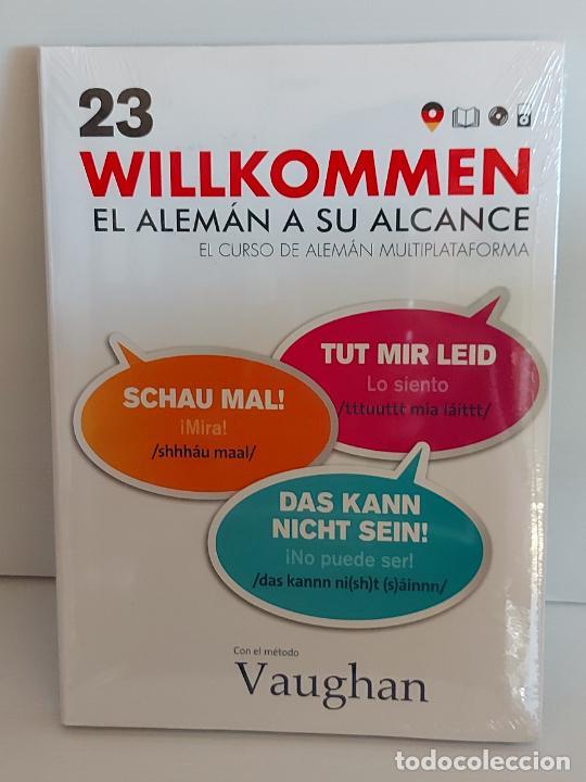 VAUGHAN / WILLKOMMEN - EL ALEMÁN A SU ALCANCE / 23 / LIBRO + CD / PRECINTADO. (Libros Nuevos - Idiomas - Alemán )