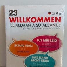 Libros: VAUGHAN / WILLKOMMEN - EL ALEMÁN A SU ALCANCE / 23 / LIBRO + CD / PRECINTADO.. Lote 228563520
