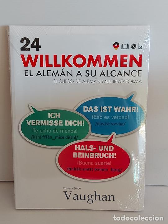 VAUGHAN / WILLKOMMEN - EL ALEMÁN A SU ALCANCE / 24 / LIBRO + CD / PRECINTADO. (Libros Nuevos - Idiomas - Alemán )