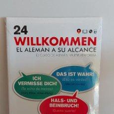 Libros: VAUGHAN / WILLKOMMEN - EL ALEMÁN A SU ALCANCE / 24 / LIBRO + CD / PRECINTADO.. Lote 228563625