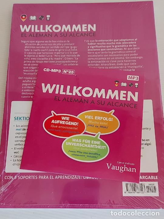 Libros: VAUGHAN / WILLKOMMEN - EL ALEMÁN A SU ALCANCE / 25 / LIBRO + CD / PRECINTADO. - Foto 2 - 228563685