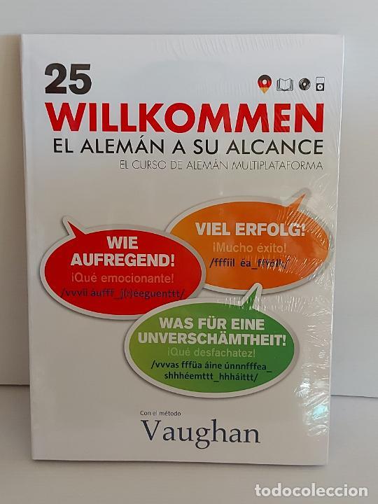 VAUGHAN / WILLKOMMEN - EL ALEMÁN A SU ALCANCE / 25 / LIBRO + CD / PRECINTADO. (Libros Nuevos - Idiomas - Alemán )