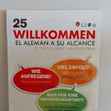 Libros: VAUGHAN / WILLKOMMEN - EL ALEMÁN A SU ALCANCE / 25 / LIBRO + CD / PRECINTADO.. Lote 228563685