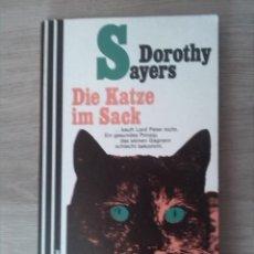Libros: DIE KATZE IM SACK. DOROTHY SAYERS. SCHERZ VERLAG. 1959.. Lote 238891680