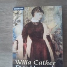 Libros: DAS HAUS DES PROFESSORS. WILLA CATHER. GOLDMANN VERLAG. 1992.. Lote 238891915