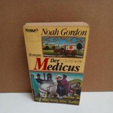 Libros: NOAH GORDON - DER MEDICUS - KNAUR - IDIOMA ALEMAN. Lote 263305660