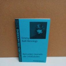 Libros: EMMY BALL-HEMINGS - BETRUNKEN TAUMELN ALLE - POSTKRIPTUM - IDIOMA: ALEMÁN. Lote 266473553
