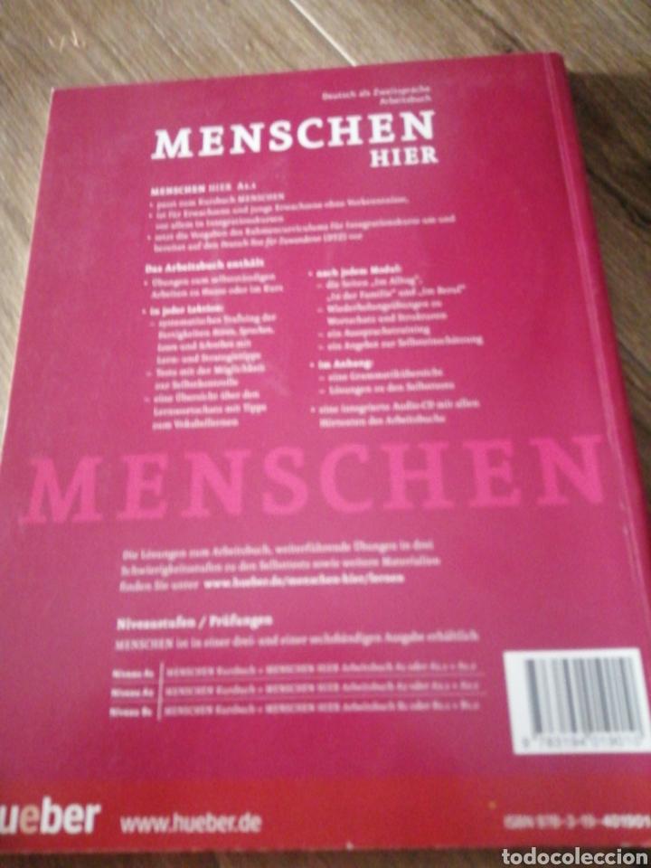 Libros: Menschen Hier A.1.1 y A.1.2 (alemán) - Foto 2 - 269260903