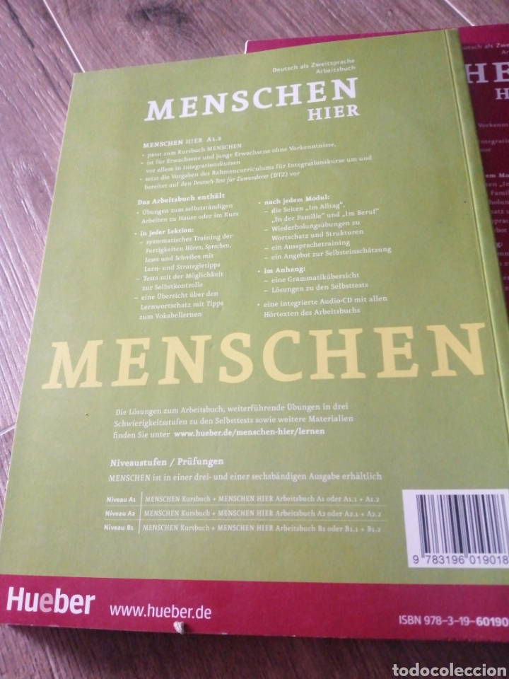 Libros: Menschen Hier A.1.1 y A.1.2 (alemán) - Foto 3 - 269260903