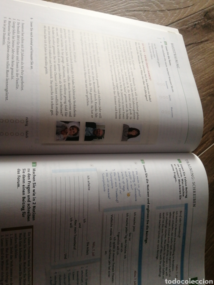 Libros: Menschen Hier A.1.1 y A.1.2 (alemán) - Foto 9 - 269260903