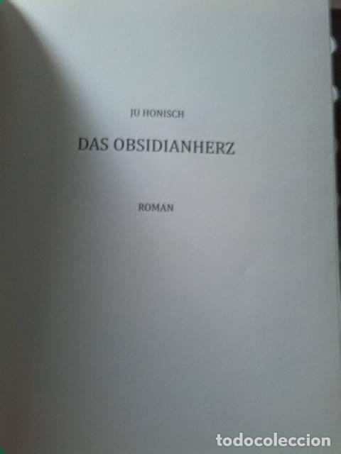 Libros: Das obsidianherz. Ju Honisch. Edition WeltenSchreiber. 2021. - Foto 2 - 272784878