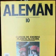 Libros: CURSO ALEMÁN PLANETA AGOSTINI – FASCÍCULO 10. Lote 284475153
