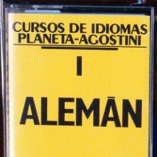 Libros: CURSO ALEMÁN PLANETA AGOSTINI – CASETE 1. Lote 284510158