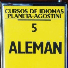 Libros: CURSO ALEMÁN PLANETA AGOSTINI – CASETE 5. Lote 284510228