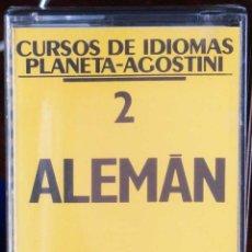 Libros: CURSO ALEMÁN PLANETA AGOSTINI – CASETE 2. Lote 284510293