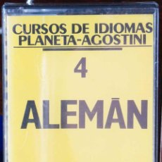 Libros: CURSO ALEMÁN PLANETA AGOSTINI – CASETE 4. Lote 284510458