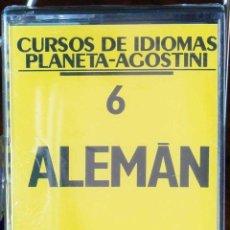 Libros: CURSO ALEMÁN PLANETA AGOSTINI – CASETE 6. Lote 284510538