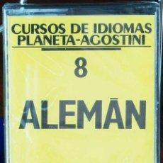 Libros: CURSO ALEMÁN PLANETA AGOSTINI – CASETE 8. Lote 284510663