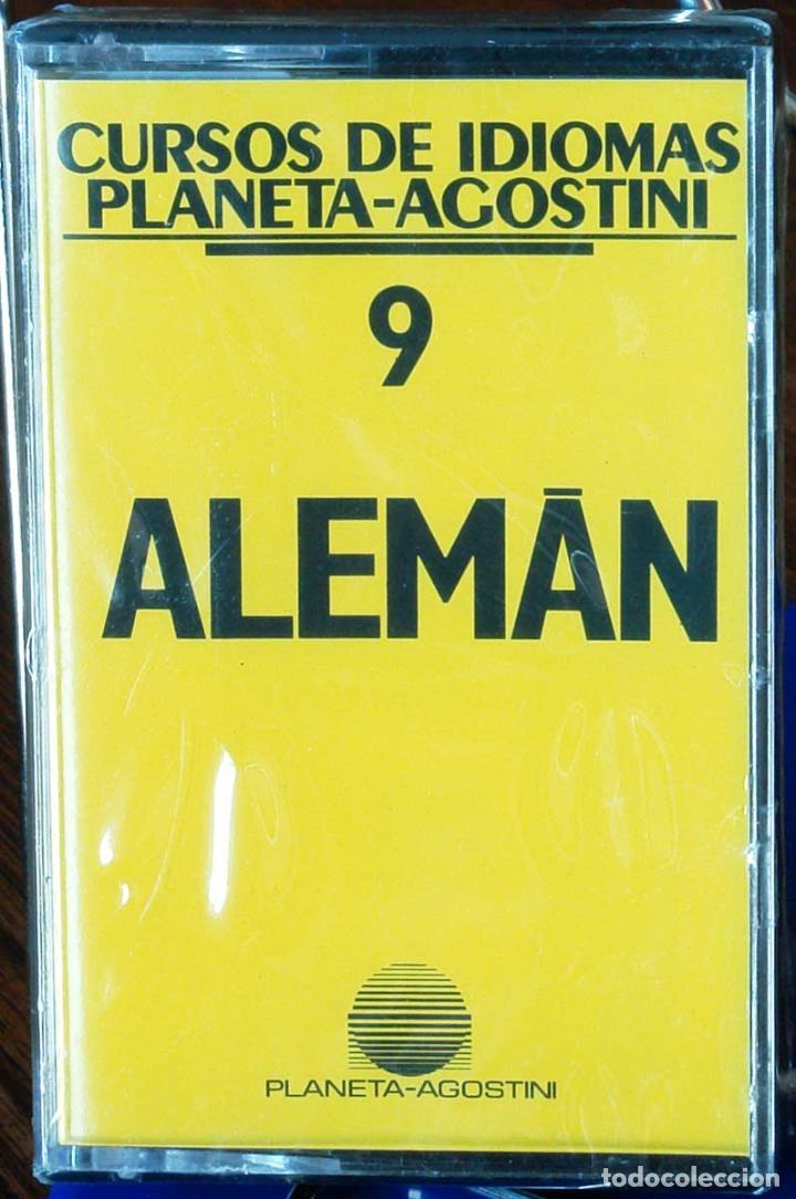 CURSO ALEMÁN PLANETA AGOSTINI – CASETE 9 (Libros Nuevos - Idiomas - Alemán )