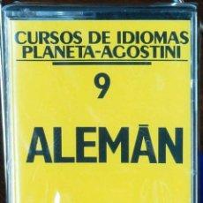 Libros: CURSO ALEMÁN PLANETA AGOSTINI – CASETE 9. Lote 284510703