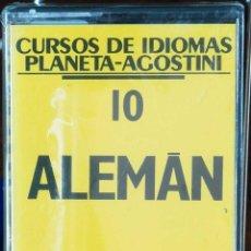 Libros: CURSO ALEMÁN PLANETA AGOSTINI – CASETE 10. Lote 284510753