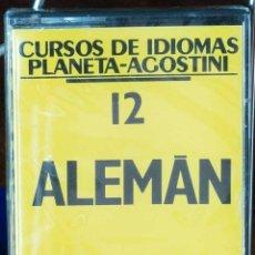 Libros: CURSO ALEMÁN PLANETA AGOSTINI – CASETE 12. Lote 284510848