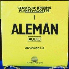 Libros: CURSO ALEMÁN PLANETA AGOSTINI – CD 1. Lote 284511253