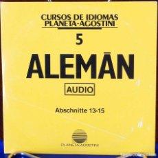 Libros: CURSO ALEMÁN PLANETA AGOSTINI – CD 5. Lote 284511393