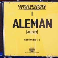 Libros: CURSO ALEMÁN PLANETA AGOSTINI – CD 1. Lote 284511778