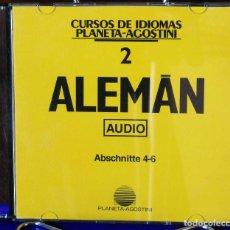 Libros: CURSO ALEMÁN PLANETA AGOSTINI – CD 2. Lote 284511813