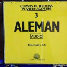 Libros: CURSO ALEMÁN PLANETA AGOSTINI – CD 3. Lote 284511898