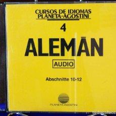 Libros: CURSO ALEMÁN PLANETA AGOSTINI – CD 4. Lote 284511933